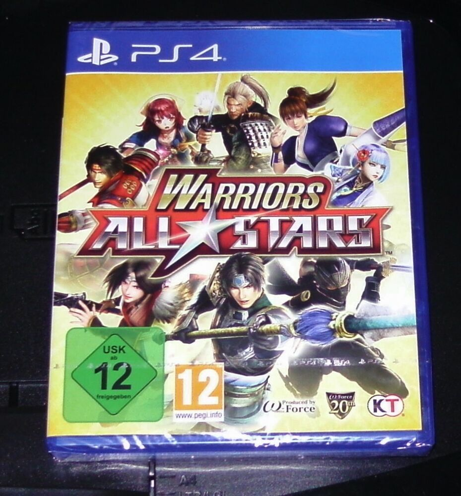 warriors all stars f r ps4 schneller versand neu ovp ebay. Black Bedroom Furniture Sets. Home Design Ideas