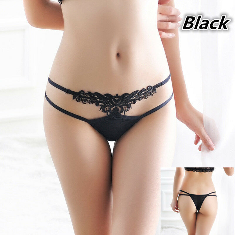 d54abd01968 Details about Sexy Lace Lady Briefs Lingerie Knickers G-string Thongs  Panties Underwear B642