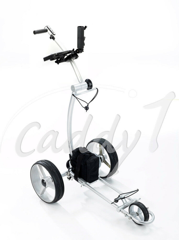 elektro golf trolley caddyone 600 mit lithium akku ebay. Black Bedroom Furniture Sets. Home Design Ideas