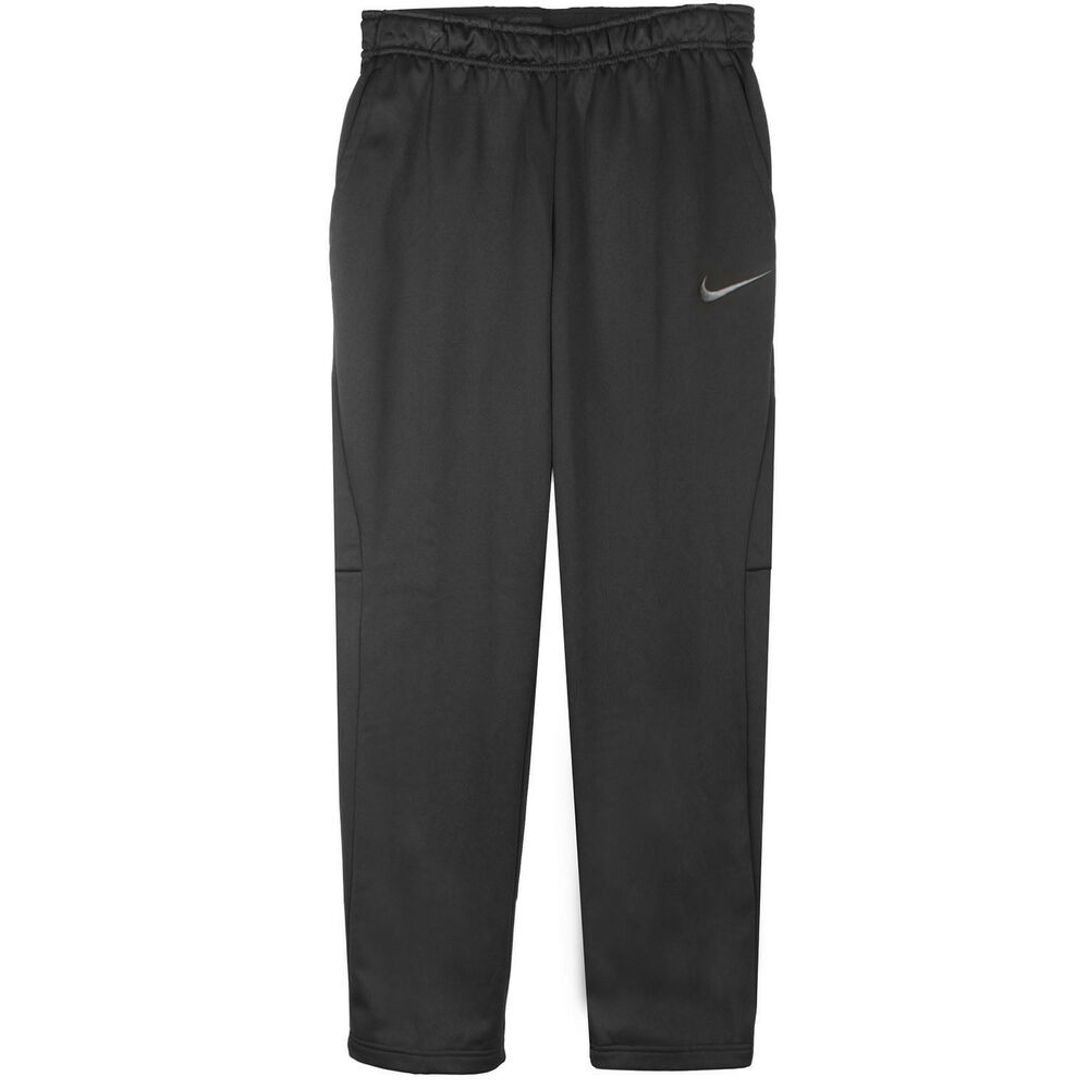 1690ed178 Details about Nike Therma Pants Mens 800191-010 Black Dri-Fit Polyester Training  Pants Size L