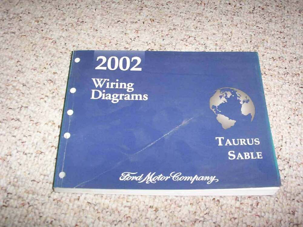 2002 Ford Taurus Electrical Wiring Diagram Manual Se Sel