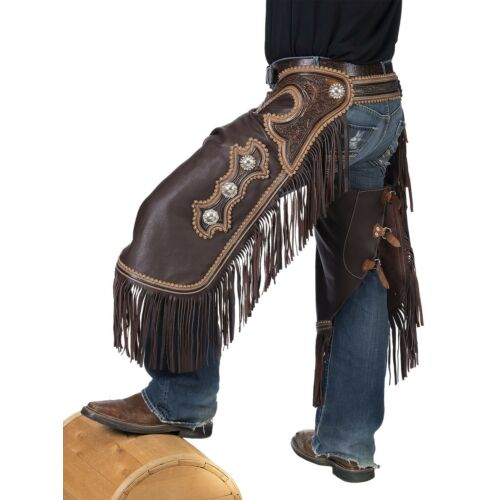 western-chinks-chaps-floral-antiqued-tooled-yoke-smooth-brown-leather-ml