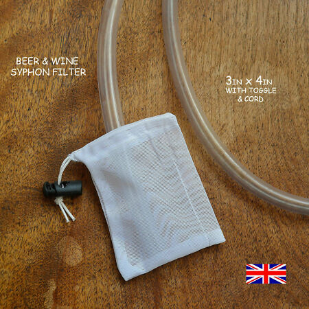 img-WINE  &  BEER FINE MASH BAG 300 MICRON & TOGGLE -PRICE IS FOR BAG ONLY £3.50 F/P