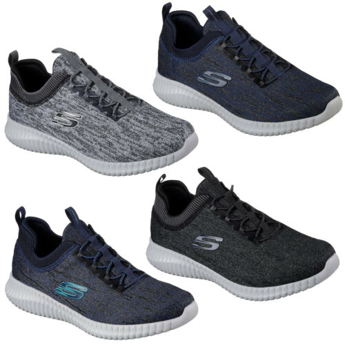 Skechers Elite Flex Hartnell Trainers Mens Memory Foam Sports Fashion Shoes