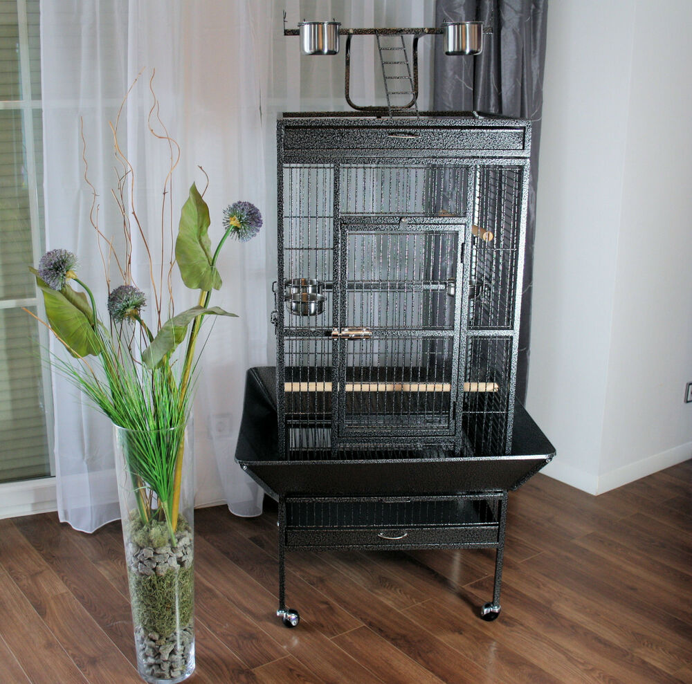mypets papageienk fig parrot cage xxl vogelvoliere voliere k fig vogelk fig neu ebay. Black Bedroom Furniture Sets. Home Design Ideas