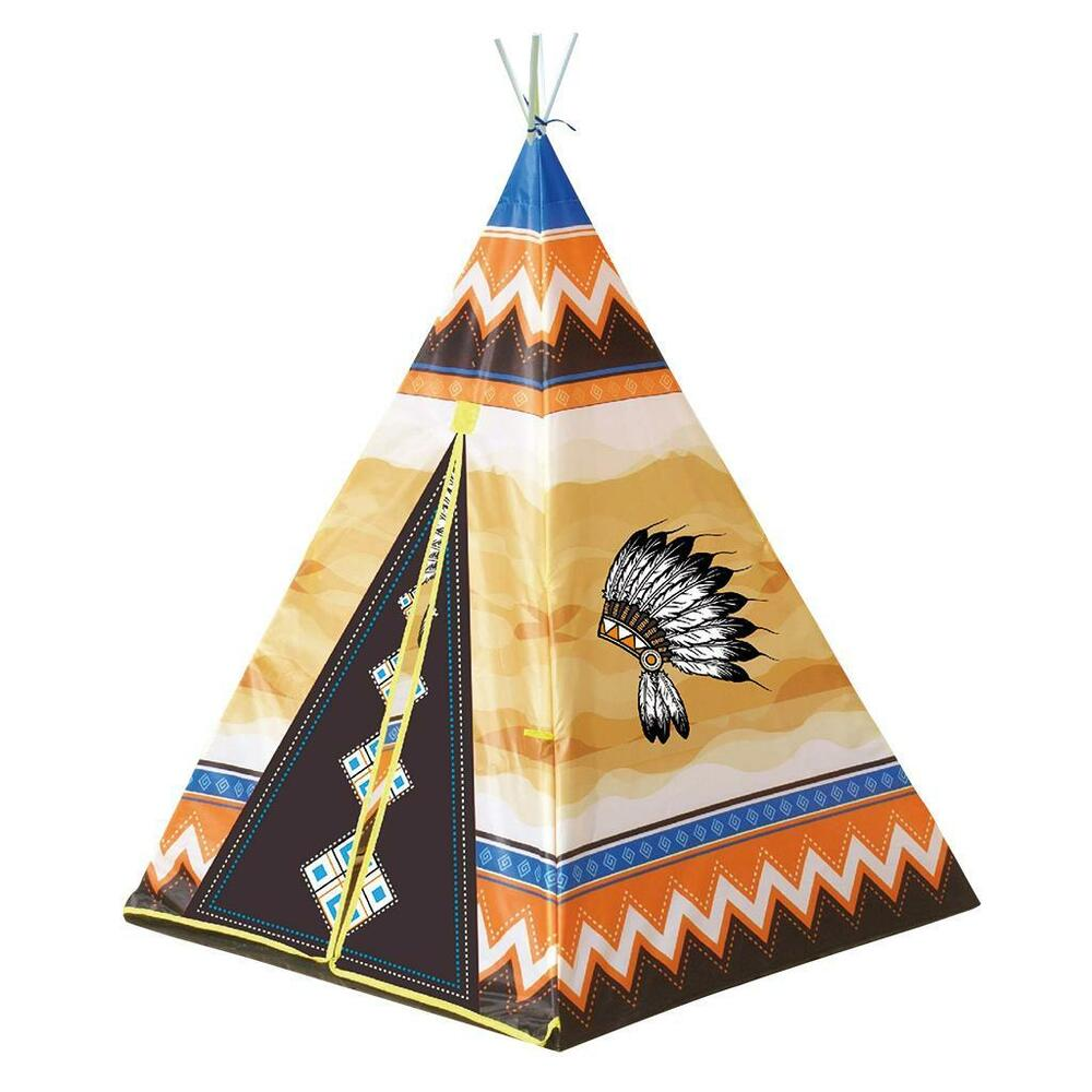 cooles indianerzelt wigwam tipi spielzelt zelt kinderzelt hauszelt garten ebay. Black Bedroom Furniture Sets. Home Design Ideas