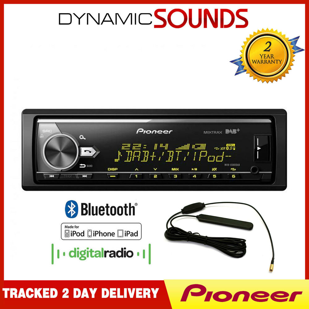 Blaupunkt Skagen 370 Dab Bt In Car Radio With Bluetooth: Pioneer MVH-X580DAB DAB Radio, MP3 USB AUX Bluetooth