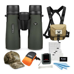 Kyпить Vortex 8x42 Diamondback Roof Prism Binoculars with Glasspak Harness Case Bundle на еВаy.соm