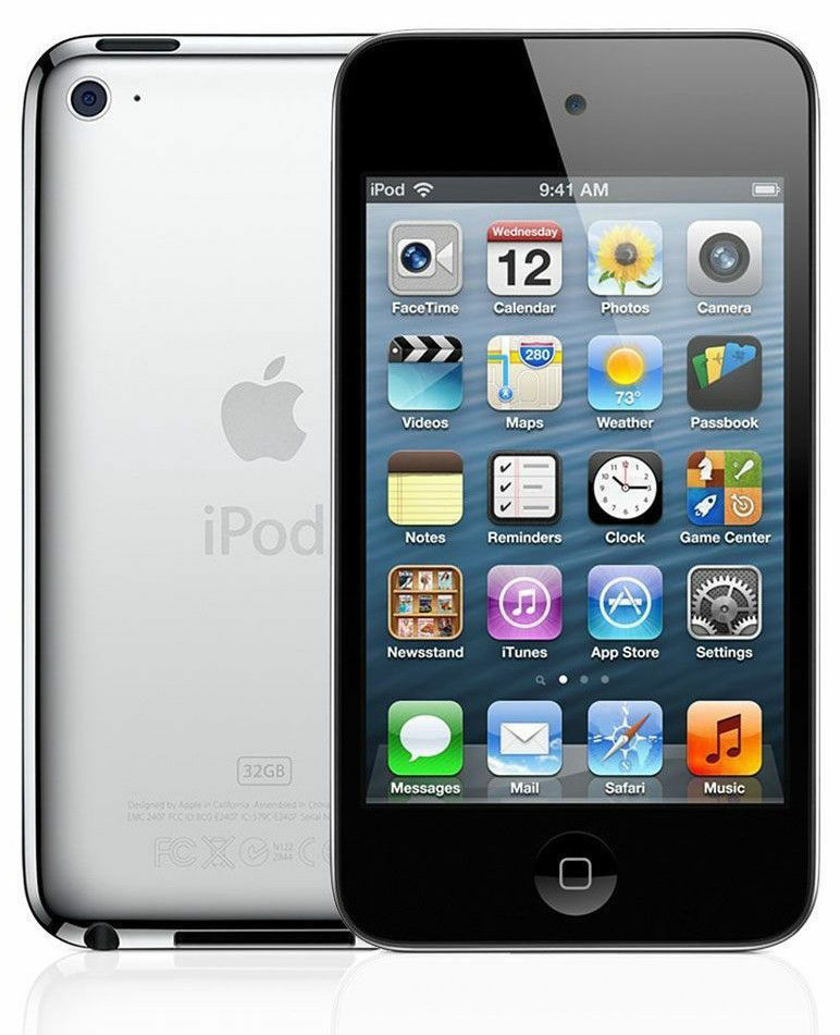 apple ipod touch 4th generation 8gb 16gb 32gb 64gb black. Black Bedroom Furniture Sets. Home Design Ideas