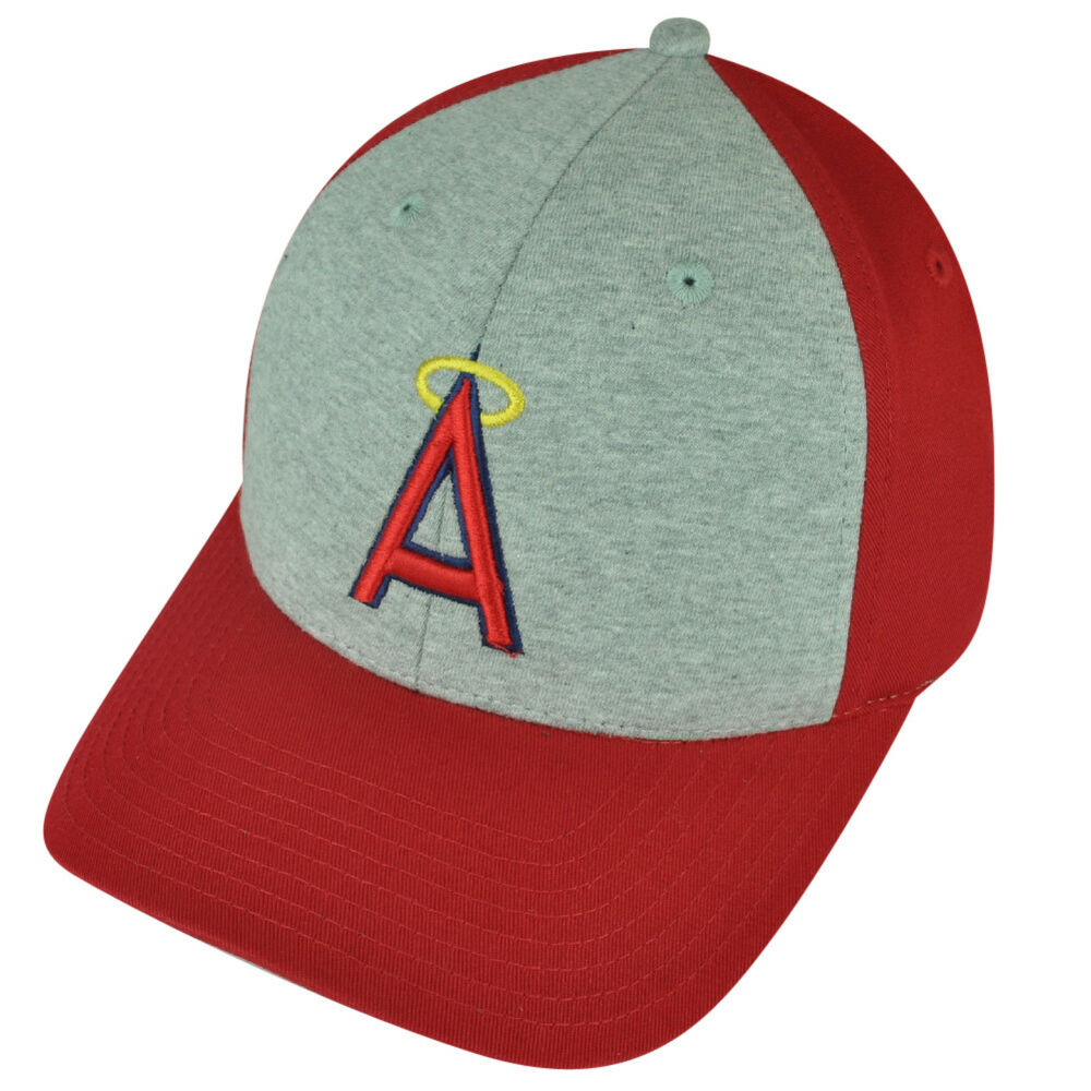 63ce96f505a Details about MLB American Needle Los Angeles Angels Snapback 2Tone Red  Grey Hat Cap Sports