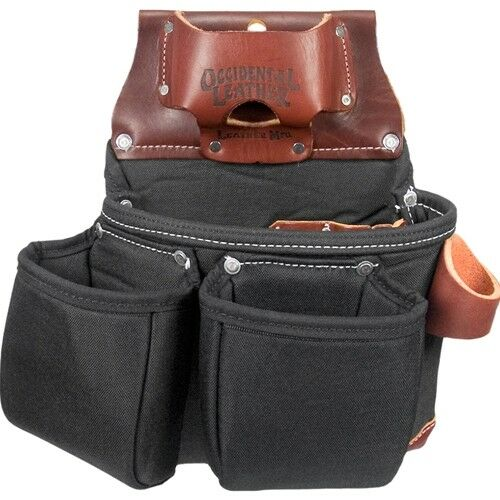 Occidental Leather B8018db Black Oxylights 3 Pouch Bag With Tape Measure Pouch 759244065503 Ebay