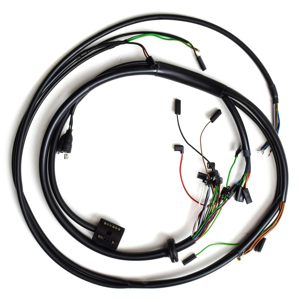 Chassis Wire Harness Bmw R Airhead All 661 11 1 357 457 R60 2 Wiring Har457 Ebay