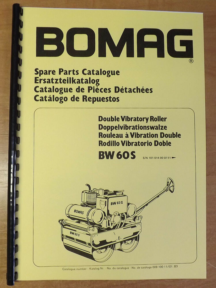 Bomag bw60 manual bomag rollers and pavers array bomag double vibratory roller spare parts catalogue manual bw60s rh fandeluxe Images