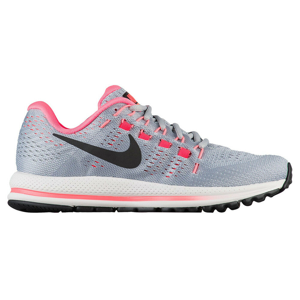 Details about Nike Air Zoom Vomero 12 Womens 863766-002 Grey Hot Pink  Running Shoes Size 7 1151cf8d6cdf