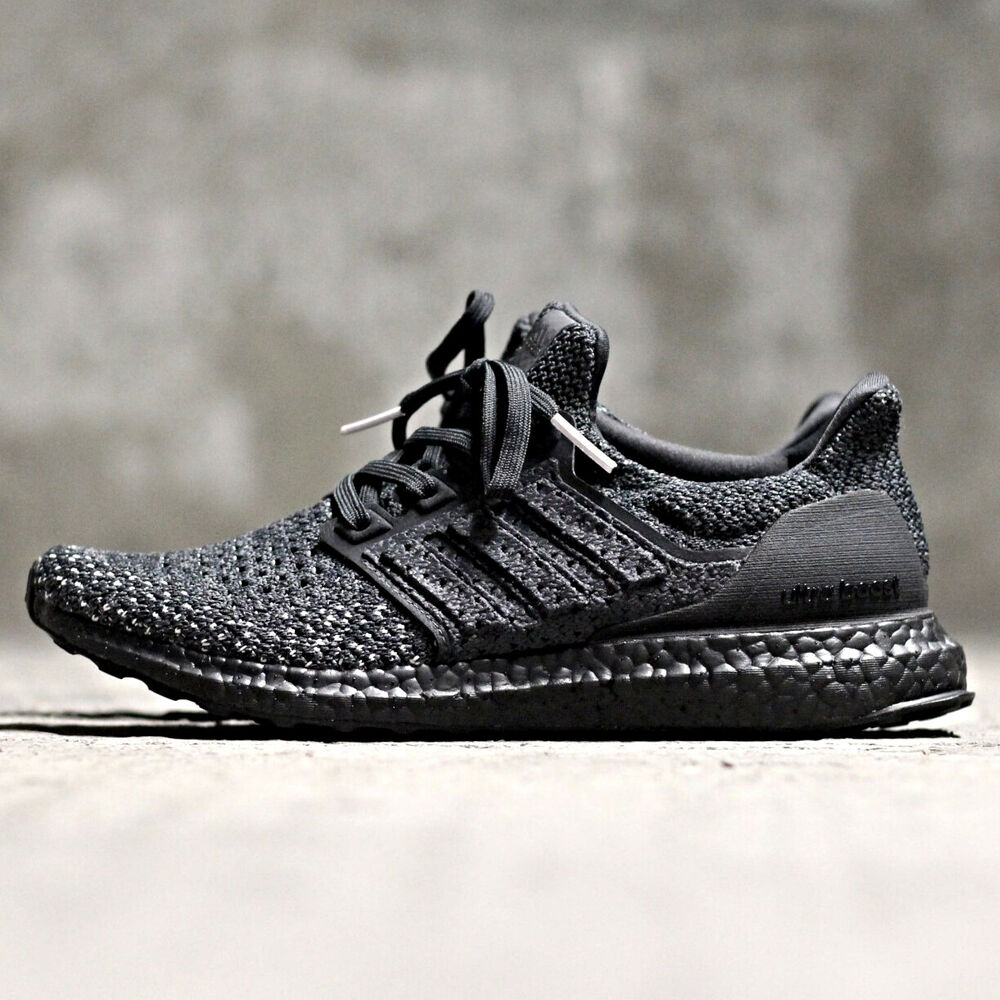 17cd51f8a3a4 Details about ADIDAS ULTRA BOOST CLIMA TRIPLE BLACK PK PRIMEKNIT SIZE 7-12  NMD PARLEY LTD MENS