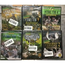 THE TRUTH Primos Hunting DVD's Lot of 6