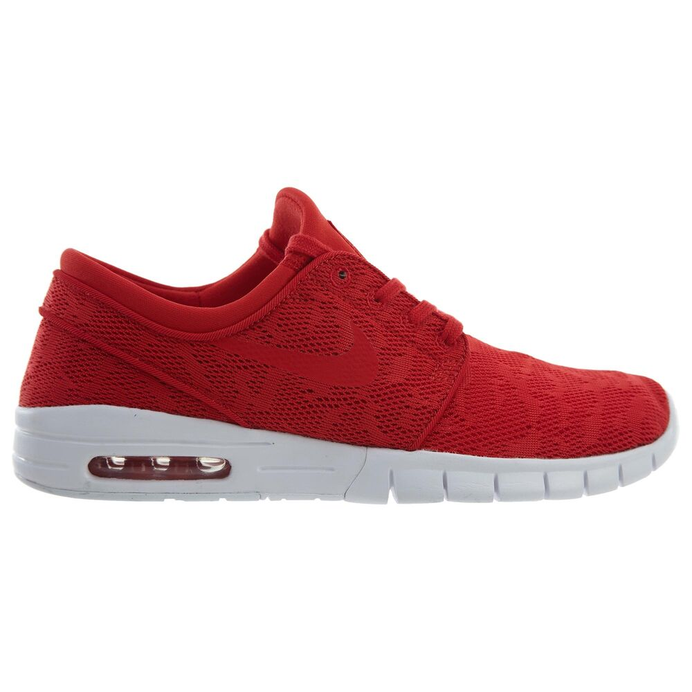 finest selection 69ecb ff15d Details about Nike SB Stefan Janoski Max Mens 631303-662 University Red  Skate Shoes Size 10.5