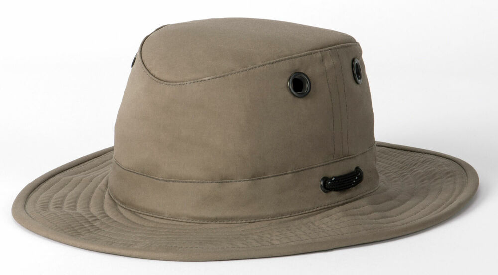 Details about Tilley LWC55 Outback Lightweight Waxed Cotton Hat f48f95f63e7