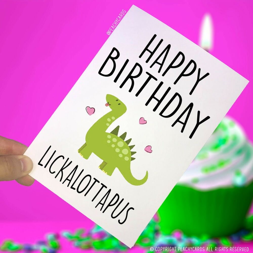 Details About Happy Birthday Greeting Cards Lesbian Funny Gifts Gay Friend Celebration PC57
