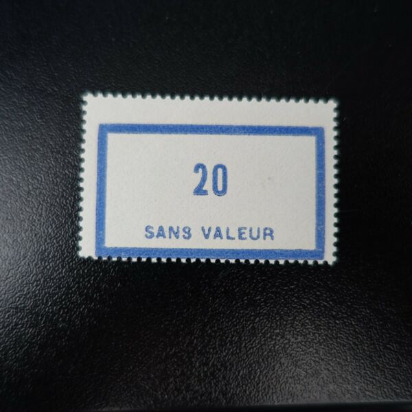 FRANCE TIMBRE FICTIF N°46 NEUF ** LUXE GOMME D'ORIGINE MNH