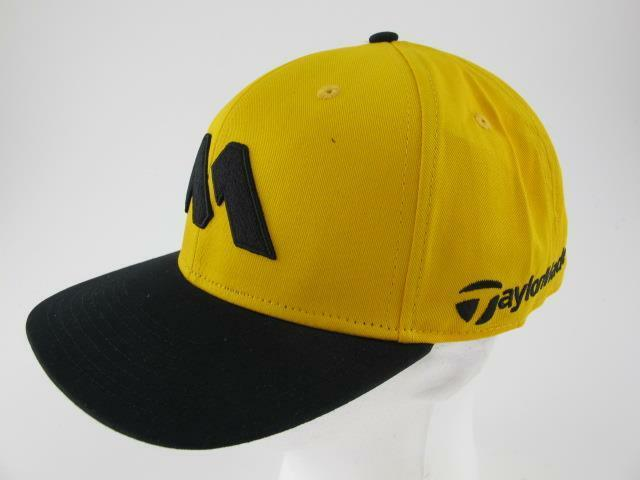62f9c5a65b565 Details about TaylorMade Golf Limited Edition M Embroidered 1979 Black    Gold Baseball Hat Cap