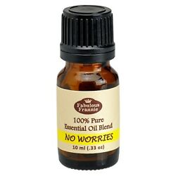 NO WORRIES Pure Essentail Oil Blend 10ml by Fabulous Frannie Buy 3 Get 1