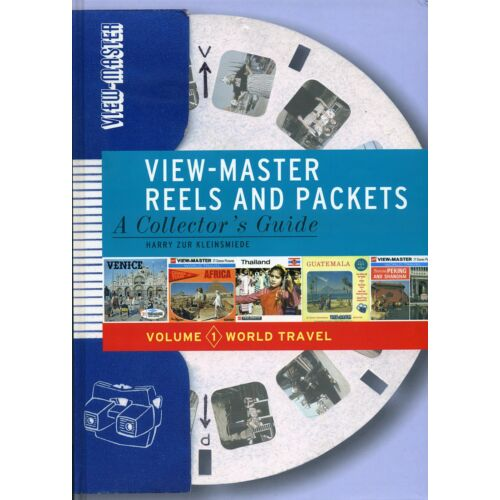 viewmaster-book-volume-1-reels-packets-world-travel-by-harry-zur-kleinsmiede
