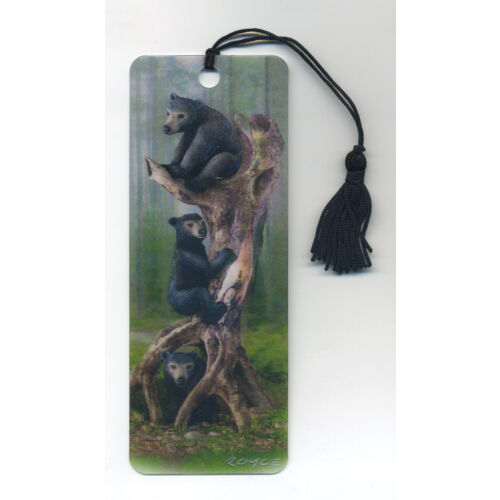 3-black-bears-3d-lenticular-bookmark-2-14-by-6-inches-fantastic-3d