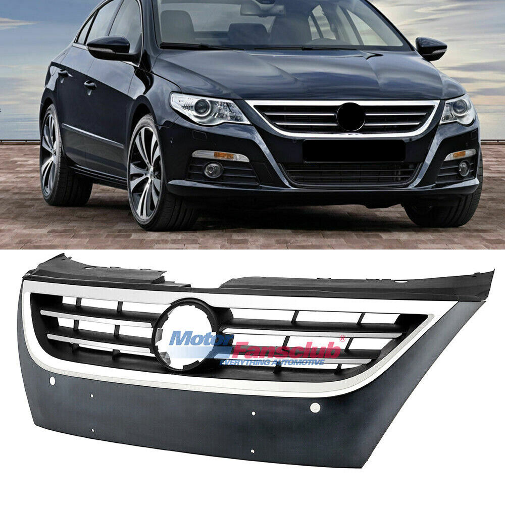 Upper Bumper Grille Front Chrome Grill For Volkswagen CC