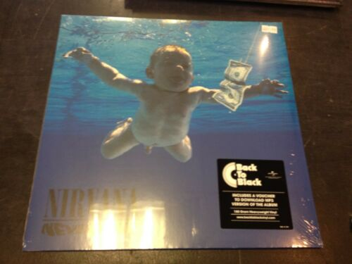 NIRVANA - NEVERMIND LP + DOWNLOAD NEW MINT SEALED 2008