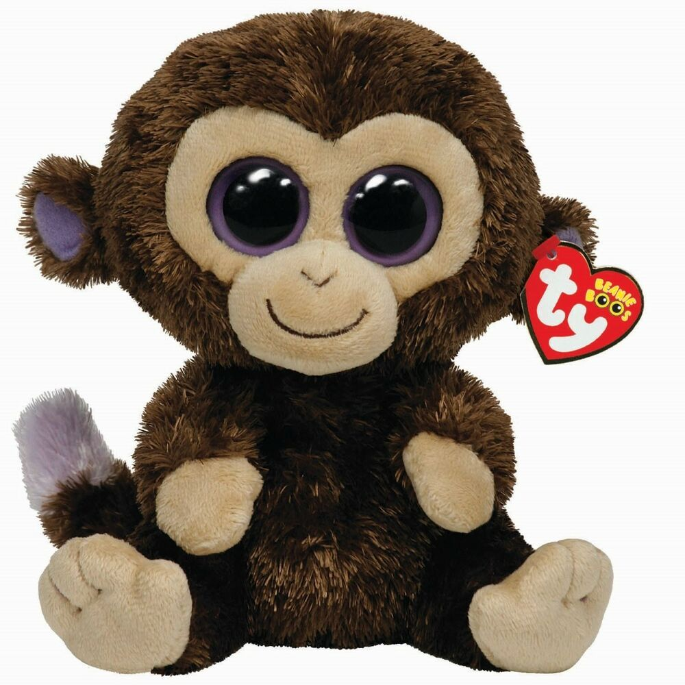 Details about Ty Beanie Babies 36901 Boos Coconut the Monkey Boo Buddy 13f587d3ef9