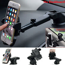 Universal Car 360° Windshield Mount Holder for Cell Phone GPS iPhone Samsung S9