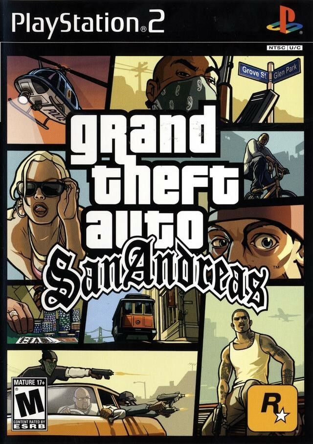 Grand Theft Auto San Andreas PS2 Playstation 2 Complete Game 710425274107 |  eBay