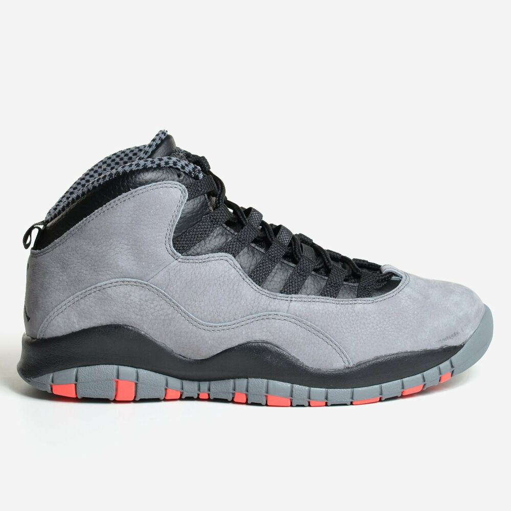 new product 9266d 54107 Details about Air Jordan 10 Retro Cool Grey 2014 Infrared 23 Black X Men s  DS 310805-023