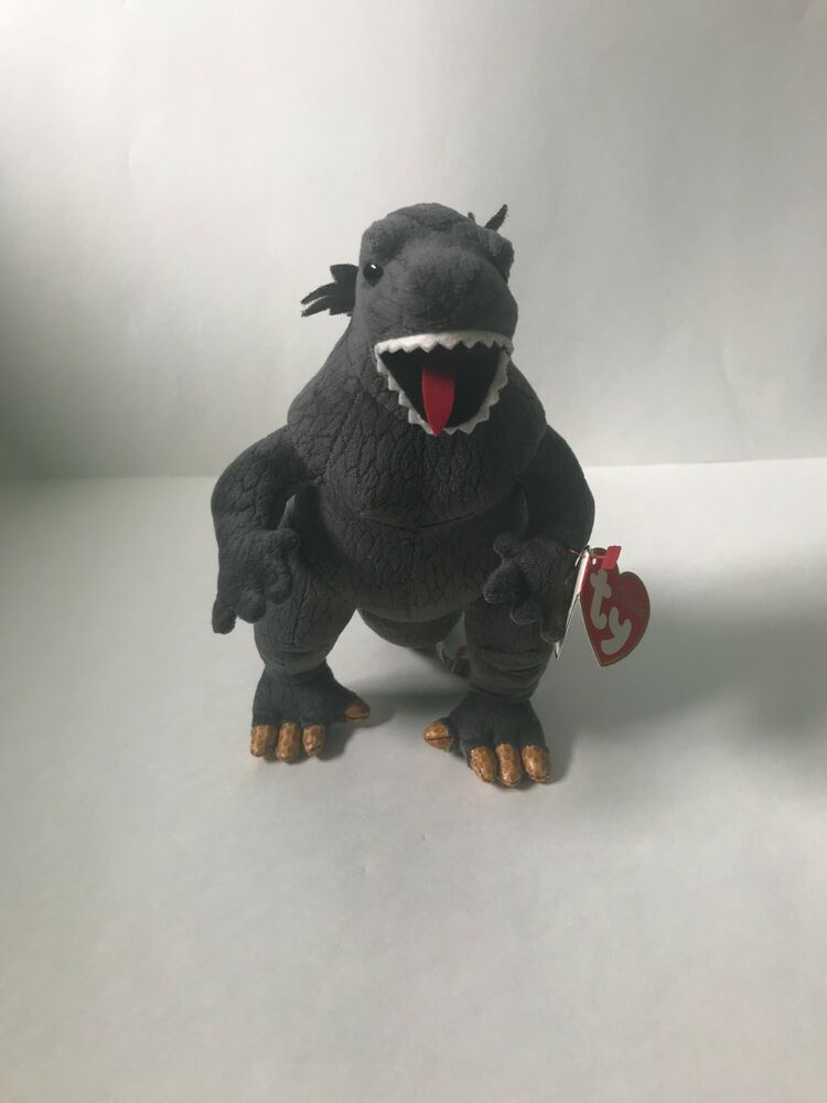 Details about Ty Godzilla 2001 Sold in Japan Beanie Baby Plush Doll d763e5094664