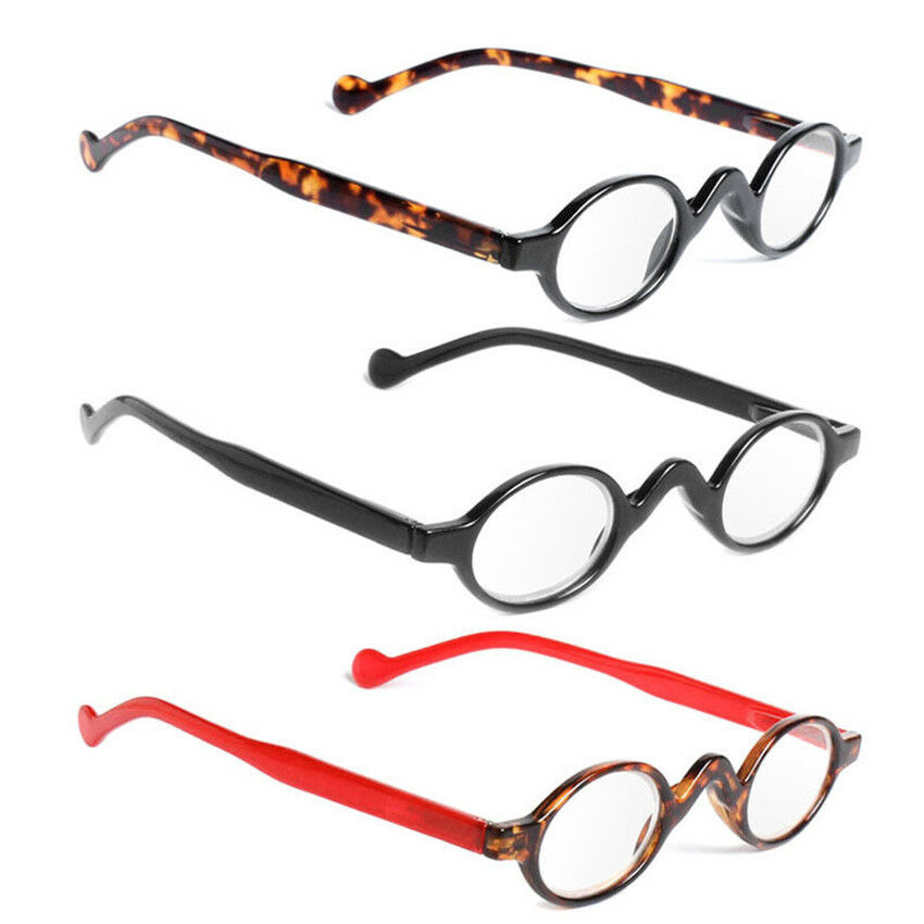 3b033902312 Details about Retro Reading Glasses Classic Vintage Style Small Round Frame  Men Women Readers