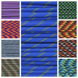 550 Paracord Rope Spec Type III 7 Strand Parachute Cord Hot Fun & Color Patterns