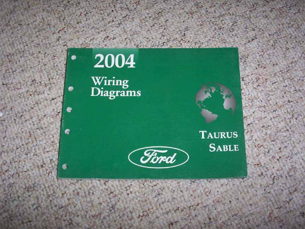 2004 Ford Taurus Electrical Wiring Diagram Manual Lx Se