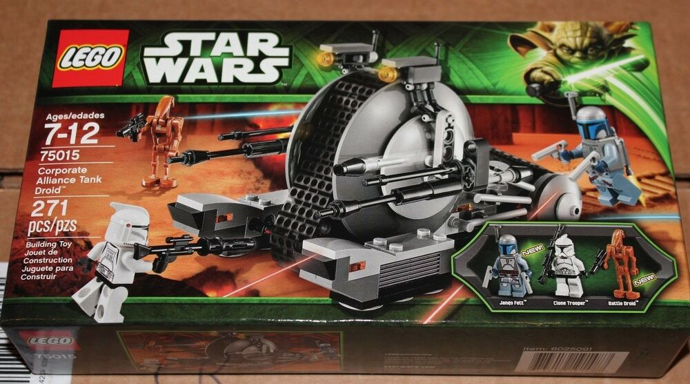New Factory Sealed Lego 75015 Corporate Alliance Tank Droid