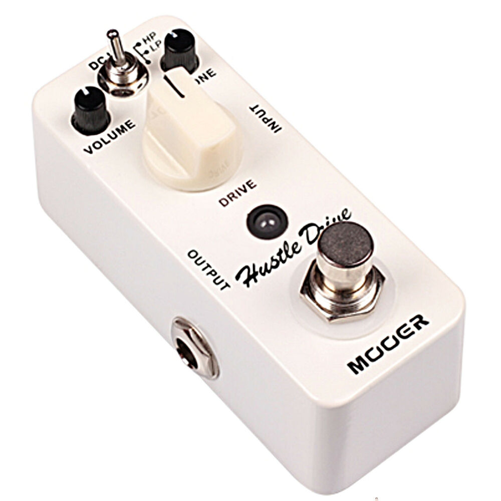 Mooer Hustle Drive Distortion Micro Guitar Effects Pedal ...