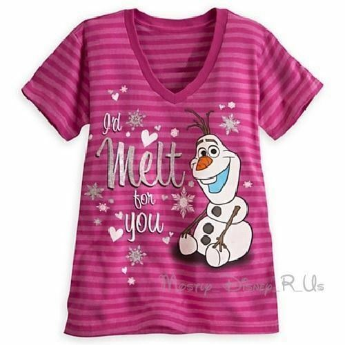 disney-store-frozen-olaf-id-melt-for-you-vneck-graphic-tee-tshirt-top-sxl