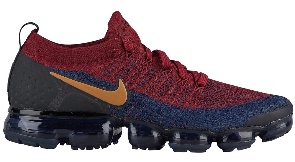Details about Nike Air Vapormax Flyknit 2 Mens 942842-604 Red Obsidian  Running Shoes Size 10 c2077c81fa1d