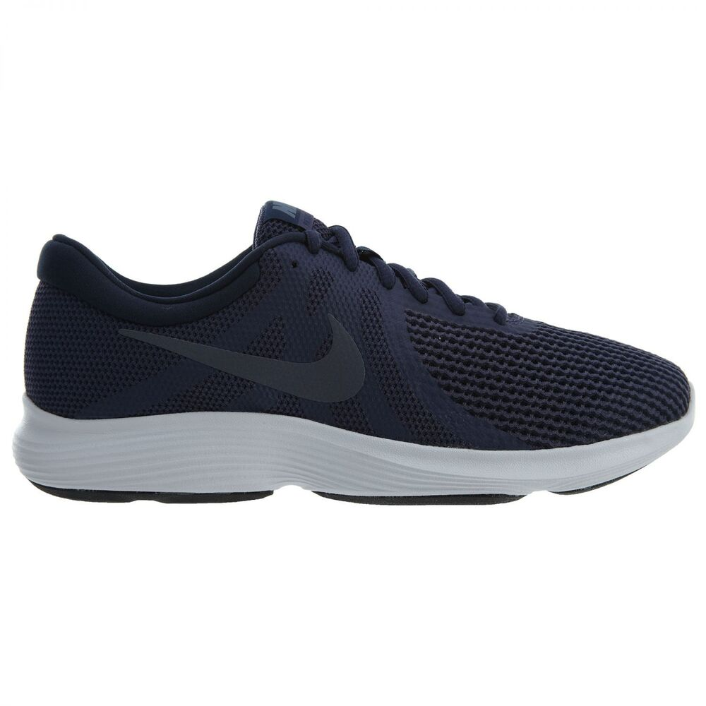 0edca8d94bcc Details about Nike Revolution 4 Mens 908988-500 Neutral Indigo Carbon Running  Shoes Size 13