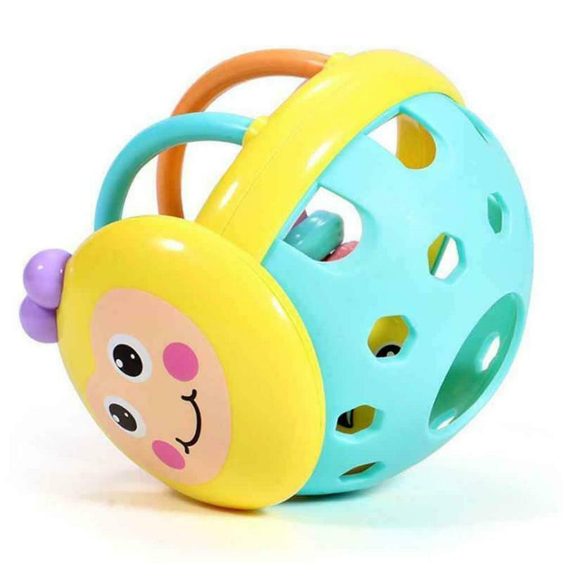 Baby Einstein Flexible Bendy Ball Rattle Toy For Babies