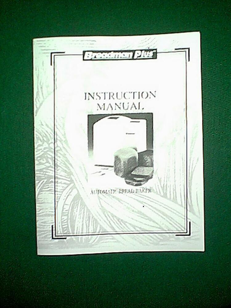 INSTRUCTION MANUAL - Use and Care Manuals