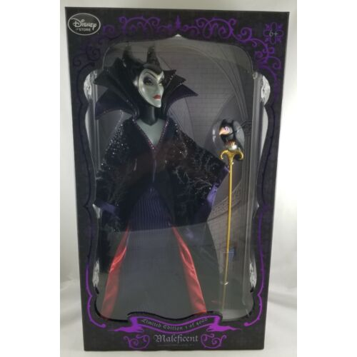 new-disney-store-sleeping-beauty-maleficent-17-limited-edition-doll-le-4000