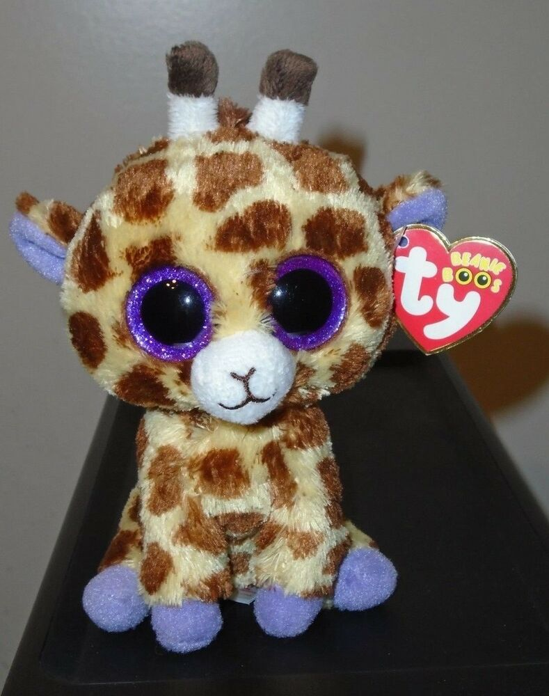 8f966a00a0a Details about NMT  Ty Beanie Boo ~ SAFARI the Giraffe (6 Inch)(Glitter    Sparkly Eyes) MWNMT