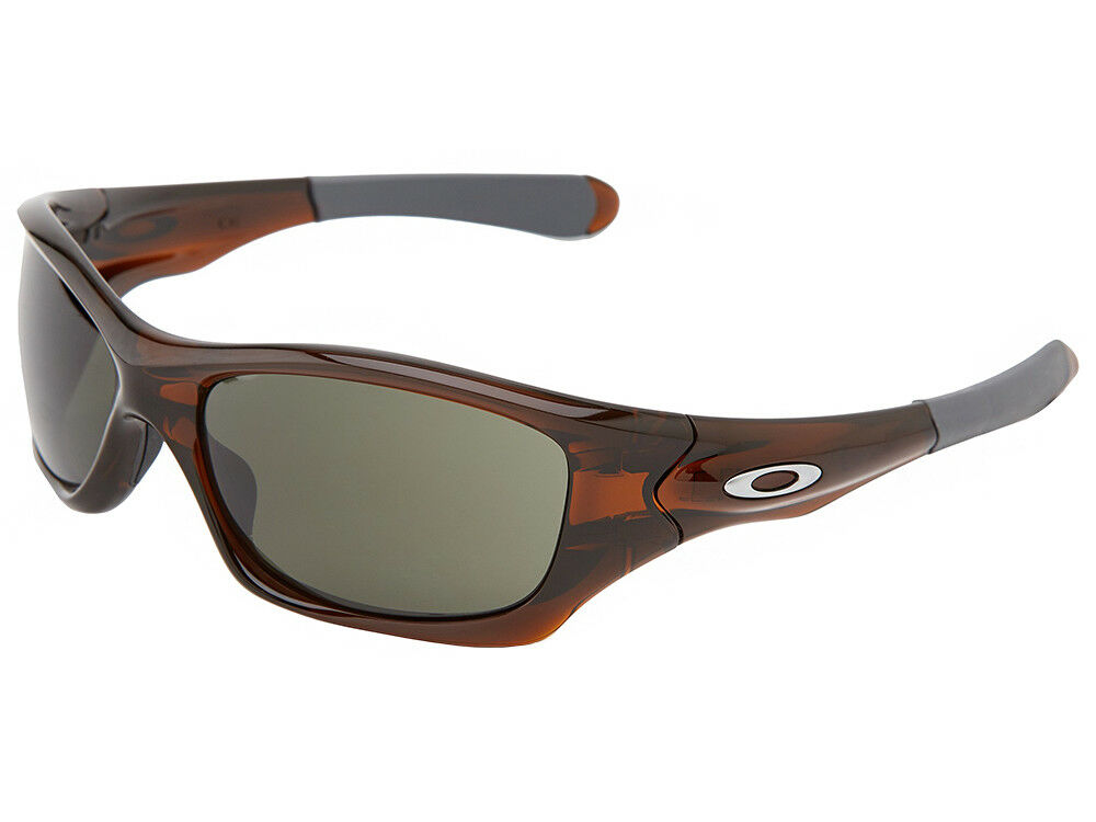 824ba418ba2 Details about Oakley Pit Bull Sunglasses OO9127-20 Polished Rootbeer Dark  Grey
