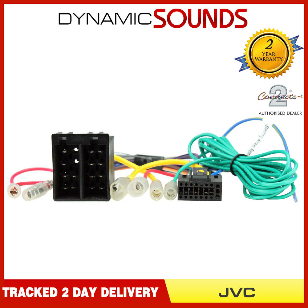 details about ct21jv05 16 pin iso head unit replacement car stereo wiring  harness for jvc