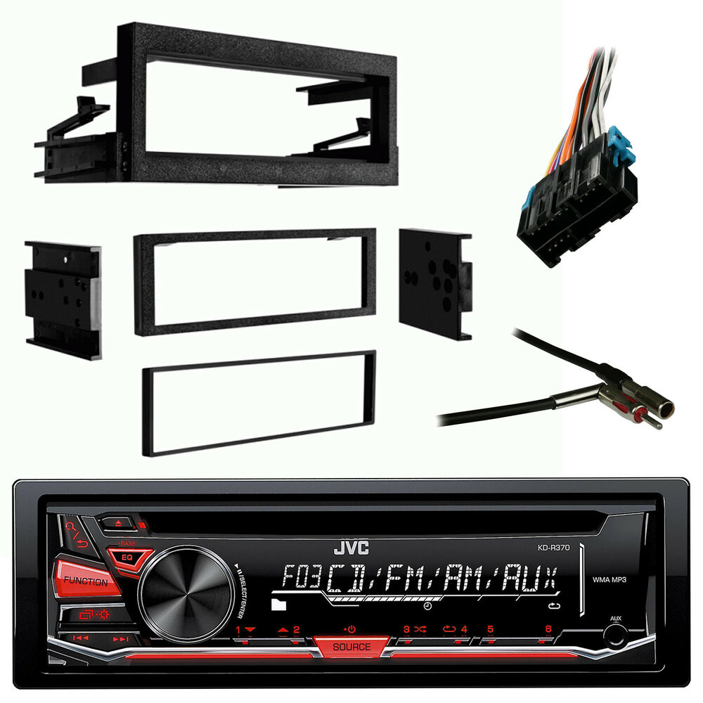 Jvc Kdr370 Cd Aux Car Radio Antenn Adapter Gm Wire Harness Dash Wiring Also As Well Install Kit 604697428170 Ebay